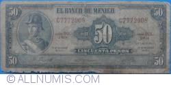 Image #1 of 50 Pesos 1972 (29. XII.) - Serie BQL