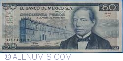 Image #1 of 50 Pesos 1981 (27. I.) - Serie JR