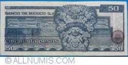 Image #2 of 50 Pesos 1981 (27. I.) - Serie JR