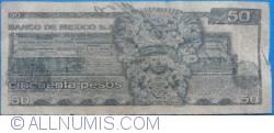 Image #2 of 50 Pesos 1981 (27. I.) - Serie KK