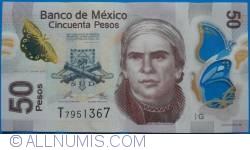 Image #1 of 50 Pesos 2013 (24. IV.) - Serie G