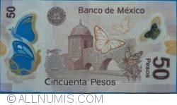 Image #2 of 50 Pesos 2013 (24. IV.) - Serie G
