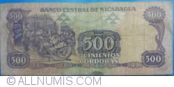Image #2 of 500 Córdobas 1985 (1988)