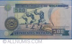 Image #2 of 500 Meticais 1991 (16. VI.)