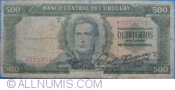 Image #1 of 500 Pesos ND(1967)