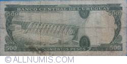 Image #2 of 500 Pesos ND(1967)