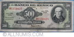 Image #1 of 500 Pesos 1978 (18. I.) - Serie CDL
