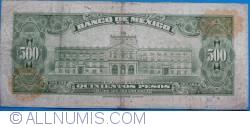 Image #2 of 500 Pesos 1978 (18. I.) - Serie CDL