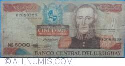 Image #1 of 5000 Nuevos Pesos ND(1983) - Serie C