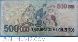 Imaginea #2 a 500 000 Cruzeiros ND(1993)