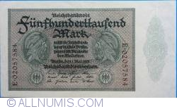 Image #1 of 500.000 Mark 1923 (1. V.) - 8 digit serial