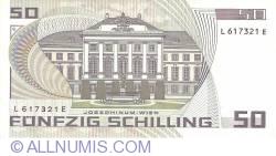 Image #2 of 50 Schilling 1986 (2. I.) (1987)