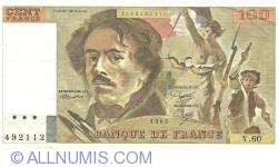 100 Francs 1982