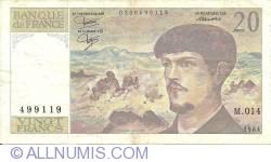 Image #1 of 20 Francs 1984