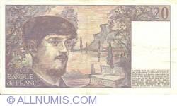 Image #2 of 20 Francs 1984