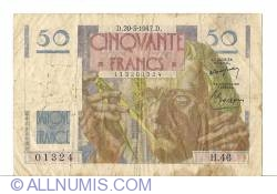 Image #1 of 50 Francs 1947 (20. III.)