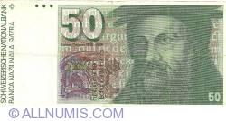 Image #1 of 50 Franken (19)79 sign Dr. Edmund Wyss / Dr. Pierre Languetin