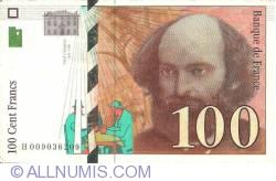 Image #1 of 100 Francs 1997