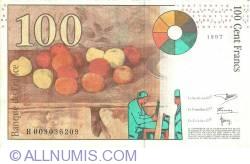 Image #2 of 100 Francs 1997