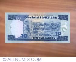 Imaginea #2 a 10 Emalangeni 2001
