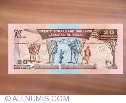Imaginea #2 a 20 Shillings = 20 Shilin 18.5.1996 (- old date 1994).