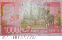 1000 Colones 2009 (2. IX.)