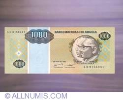 Imaginea #1 a 1000 Kwanzas Reajustados 1995