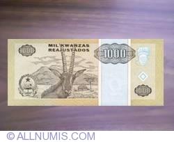 Imaginea #2 a 1000 Kwanzas Reajustados 1995