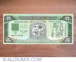 Imaginea #1 a 5 Dollars 1991 (6. IV.)