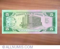 Imaginea #2 a 5 Dollars 1991 (6. IV.)
