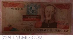 Image #1 of 5 Pesos Uruguayos ND(1997)