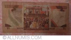 Image #2 of 5 Pesos Uruguayos ND(1997)