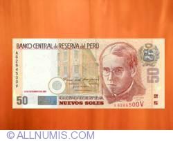 Image #1 of 50 Nuevos Soles 2001 (27. IX.)
