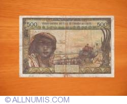 Image #2 of 500 Francs ND (1977) A