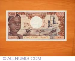 Image #1 of 500 Francs ND (1974)