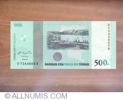 Image #1 of 500 Francs 2010