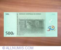 Image #2 of 500 Francs 2010