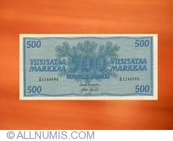 Imaginea #1 a 500 Markkaa 1956