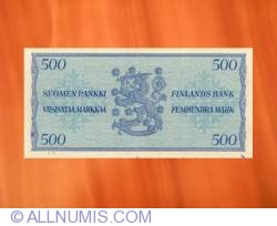 Imaginea #2 a 500 Markkaa 1956