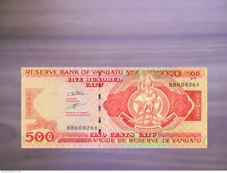Vanuatu 500 Vatu p-5b 2006 UNC Banknote