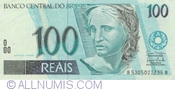 Image #1 of 100 Reais ND (1994-2010) - signatures Guido Mantega / Henrique de Campos Meirelles