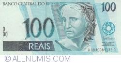 Imaginea #1 a 100 Reais ND (1994-2010) - semnături Fernando Henrique Cardoso /Pedro Sampaio Malan