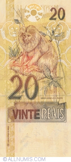 Image #2 of 20 Reais ND (2002)
