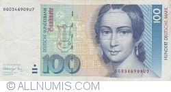 Image #1 of 100 Deutsche Mark 1991 (1. VIII.)