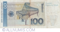 Image #2 of 100 Deutsche Mark 1991 (1. VIII.)