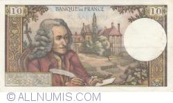 Image #2 of 10 Francs 1972 (7. IX.)