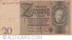 Image #1 of 20 Reichsmark 1929 (22. I.) - M