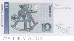 Image #2 of 10 Deutsche Mark 1993 (1. X.)