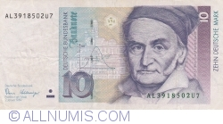 Image #1 of 10 Deutsche Mark 1989 (2. I.)