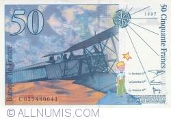 Image #2 of 50 Francs 1997